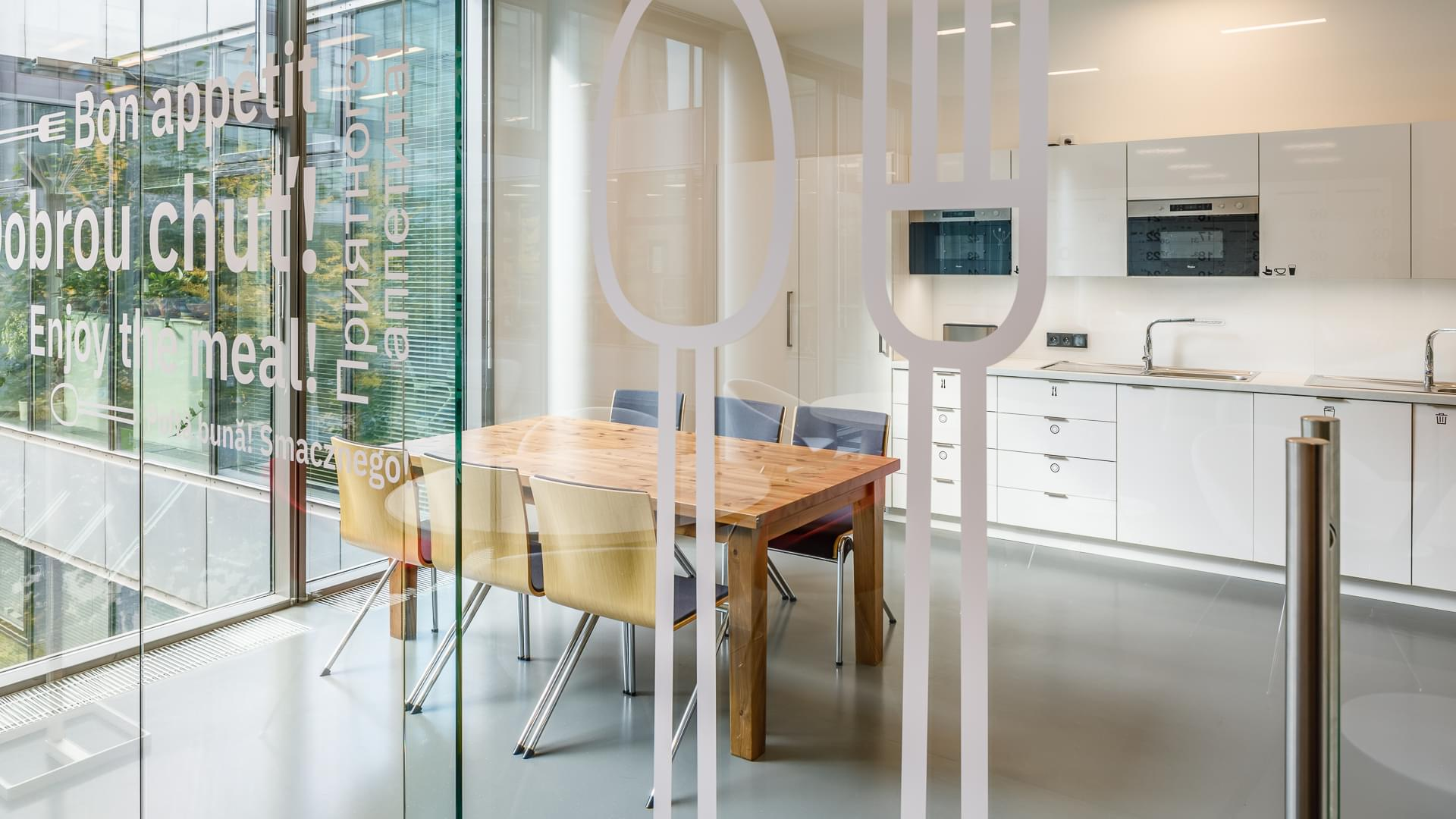 light kitchen-wallpaper-to-glass-glazed-space-CAPEXUS-office-design office-office CAPEXUS-IBM-IBM office